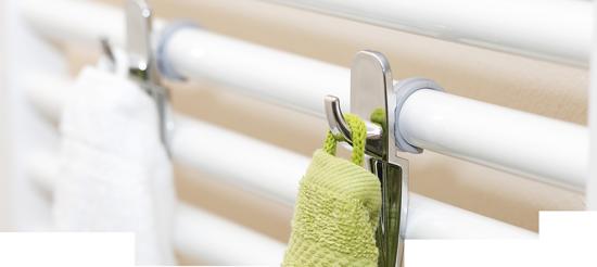 Der Hakenclip 5★ Premium Handtuchhaken für Badheizkörper