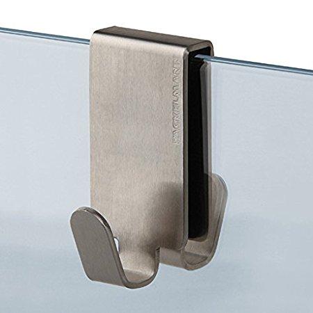 premium handtuchhalter doppelhaken f r glasduschen. Black Bedroom Furniture Sets. Home Design Ideas